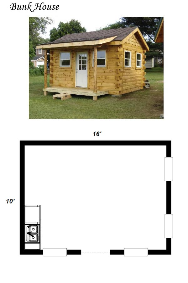 Bunk House Plans Escortsea