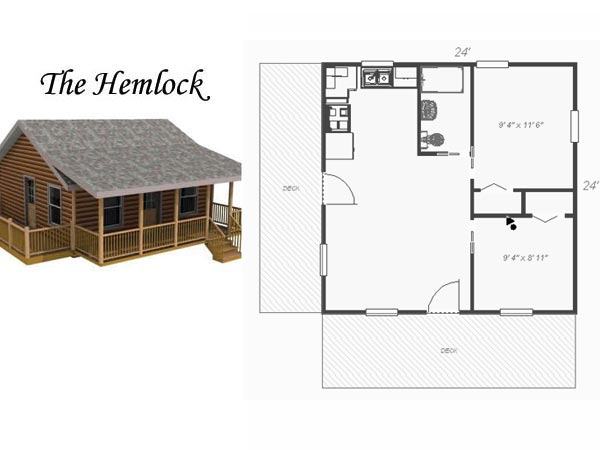 Wood 24x24 cabin plans pdf plans for 24x24 garage plans